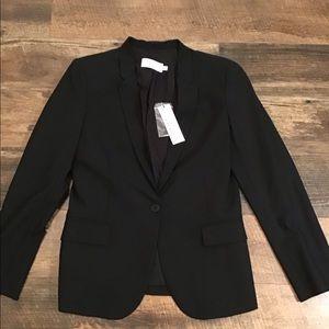 Chaiken black one button jacket/ blazer